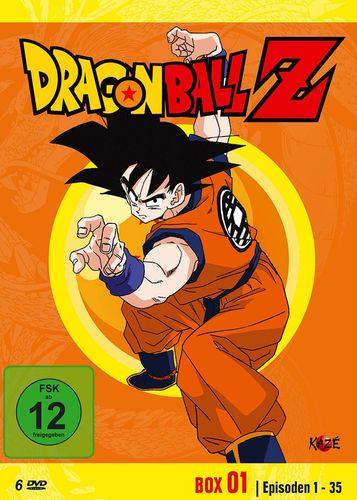 DVD Dragonball Z - Box 01 1 Die Vegeta Saga  mit Episoden 01-35 TV-Serie 6 DVDs  FSK 12  NEU & OVP