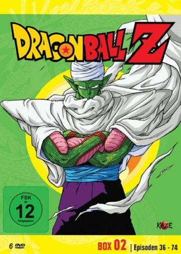 DVD Dragonball Z - Box 02 2 Die Namek Saga  mit Episoden 36-74 TV-Serie 6 DVDs  FSK 12  NEU & OVP