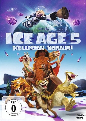 DVD Ice Age 5 V - Kollision voraus!  NEU & OVP
