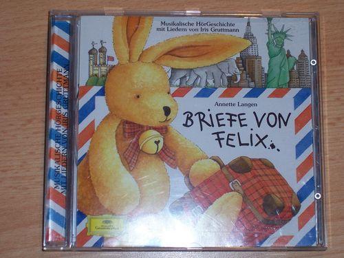 Briefe von Felix Hörspiel CD 001 1 Briefe von Felix Deutsche Grammophon gebr.
