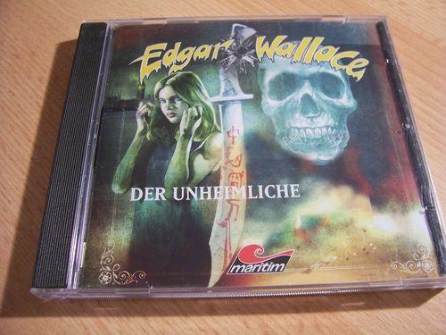 Edgar Wallace Hörspiel CD Der Unheimliche  Maritim  gebr.
