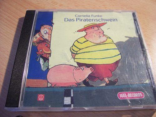 Das Piratenschwein  Hörbuch CD Cornelia Funke  gelesen von Friedhelm Ptok  gebr.