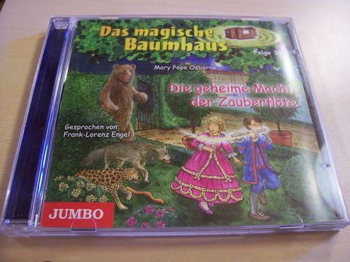 Das magische Baumhaus Hörbuch CD Folge 39 Die geheime Macht der Zauberflöte  Mary Pope Osborne gebr.