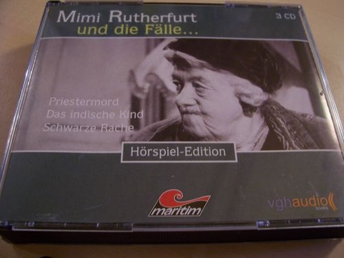 Mimi Rutherfurt und die Fälle Hörspiel CD 3. Fanbox  7  8  9  07-09 3 x CDs in Box 03/3er  gebr.