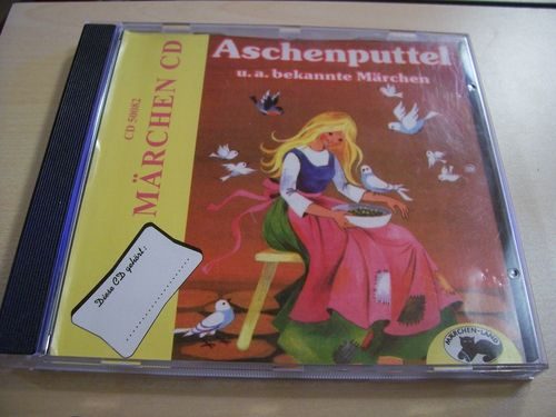 Meine Märchen Hörspiel CD Aschenputtel + 3 weiter Märchen  Märchen-Land  gebr.