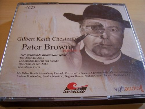 Pater Brown Hörspiel CD 2. Fanbox 5 6 7 8  4 x CDs in Box Edition 2 02/4er  Maritim gebr.