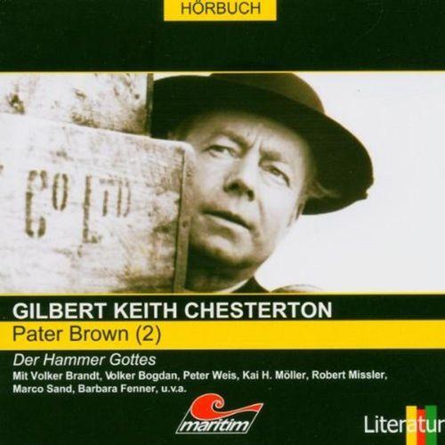Pater Brown Hörspiel CD 002 2  Der Hammer Gottes  Maritim  NEU & OVP
