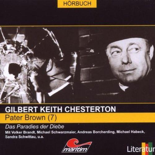 Pater Brown Hörspiel CD 007 7 Das Paradies der Diebe  Maritim  NEU & OVP
