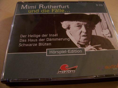 Mimi Rutherfurt und die Fälle Hörspiel CD 8. Fanbox 22 23 24  22-24 3 x CDs in Box 08/3er  gebr.