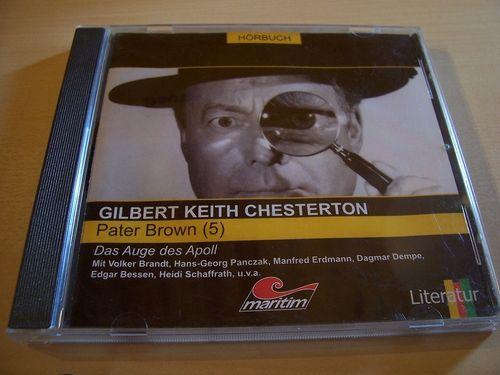 Pater Brown Hörspiel CD 005 5 Das Auge des Apoll  Maritim  gebr.
