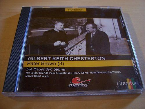 Pater Brown Hörspiel CD 003 3 Die fliegenden Sterne  Maritim  gebr.