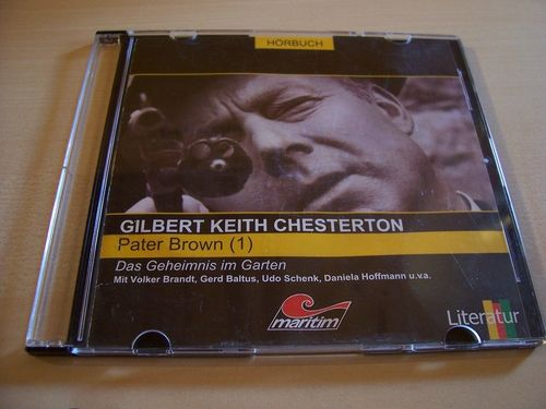 Pater Brown Hörspiel CD 001 1 Das Geheimnis im Garten  Slimcase  Maritim  gebr.