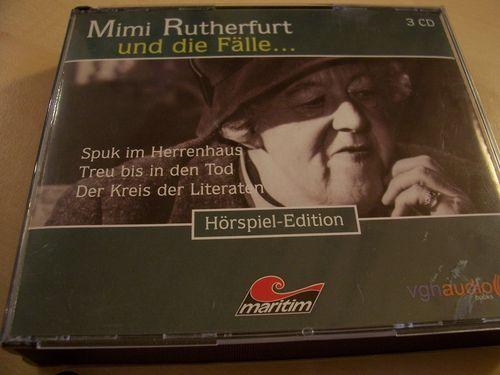 Mimi Rutherfurt und die Fälle Hörspiel CD 4. Fanbox 10 11 12  10-12 3 x CDs in Box 04/3er  gebr.