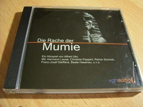 Die schwarze Serie Hörspiel CD 001 1 Die Rache der Mumie  von Maritim 2005  gebr.