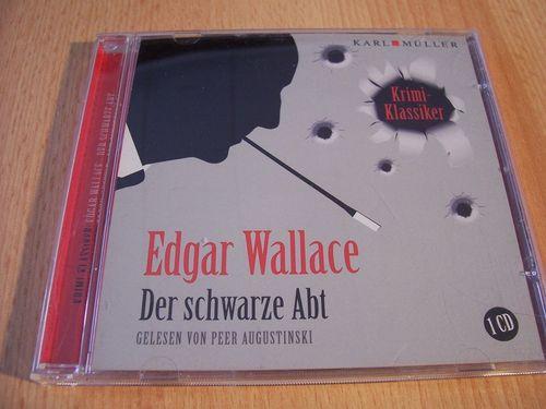 Edgar Wallace Hörbuch CD Der schwarze Abt  gelesen Peer Augustinski  von Karl Müller gebr.