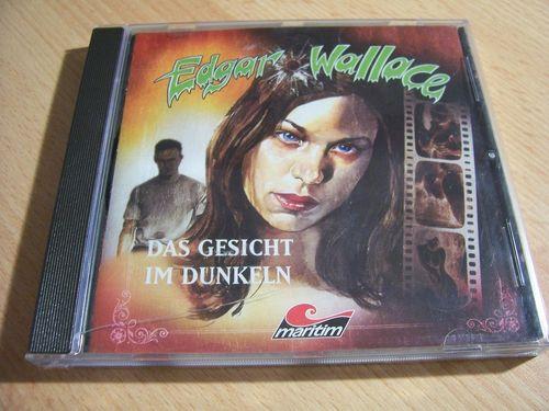 Edgar Wallace Hörspiel CD Das Gesicht im Dunkeln  Maritim  gebr.