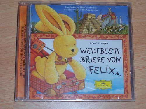 Briefe von Felix Hörspiel CD 005 5 Weltbeste Briefe von Felix Deutsche Grammophon gebr.