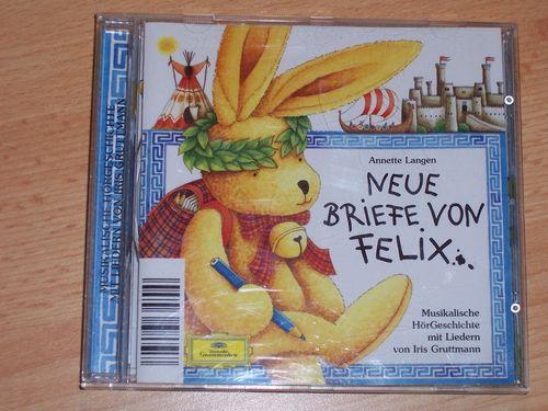 Briefe von Felix Hörspiel CD 002 2 Neue Briefe von Felix Deutsche Grammophon gebr.