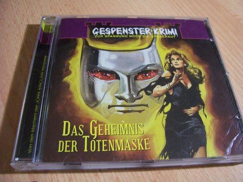 Gespenster-Krimi Hörspiel CD 006 6 Das Geheimnis der Totenmaske  SPV Lübbe Audio alt 2007  gebr.