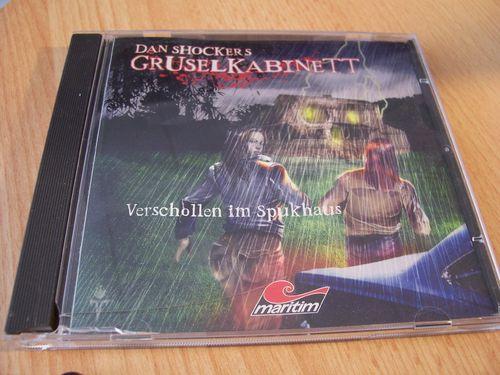 Gruselkabinett  Hörspiel CD Verschollen im Spukhaus  Dan Shockers  Maritim 2005 gebr.