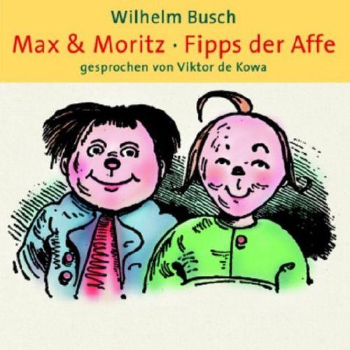 Max & Moritz + Fipps der Affe Hörbuch CD von Wilhelm Busch gelesen Viktor de Kowa  NEU & OVP