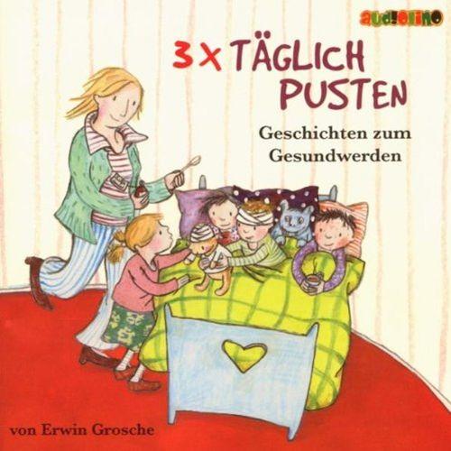 3x täglich pusten Hörbuch CD Geschichten zum Gesundwerden von Erwin Grosche  NEU & OVP