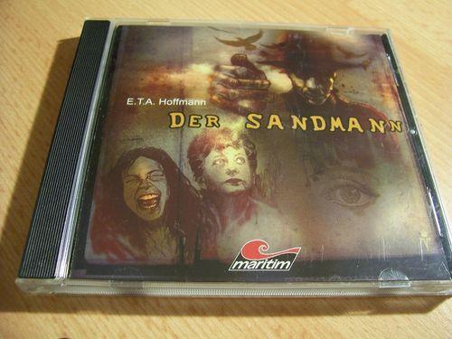 Der Sandmann Hörspiel CD  von E.T.A. Hoffmann  Maritim 2004  gebr.