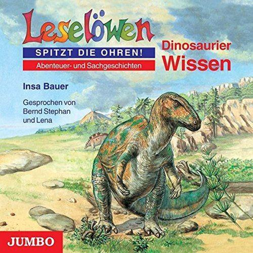 Leselöwen Hörbuch CD Dinosaurier Wissen  von Insa Bauer  NEU & OVP