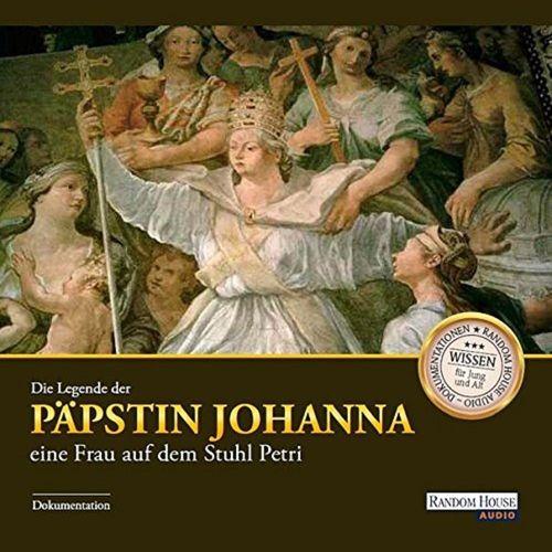 Hörbuch CD Die Legende der Päpstin Johanna  Wissen für Jung und Alt NEU & OVP