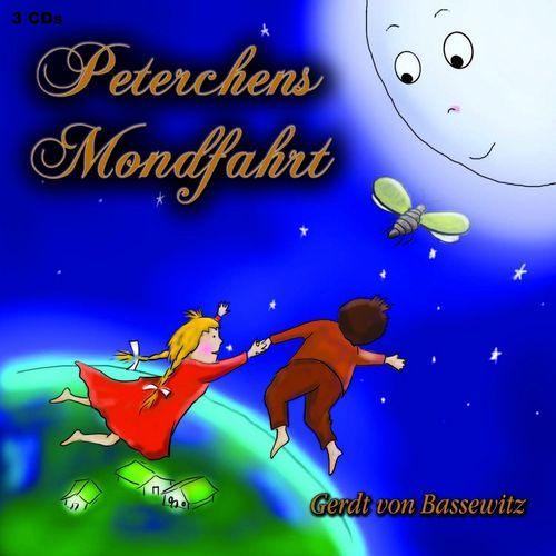 Peterchens Mondfahrt Hörbuch CD von Gerdt von Bassewitz  3er Box  NEU & OVP