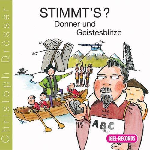 Stimmt's? Donner und Geisesblitze Hörbuch CD Wissen von Christoph Drösser  NEU & OVP