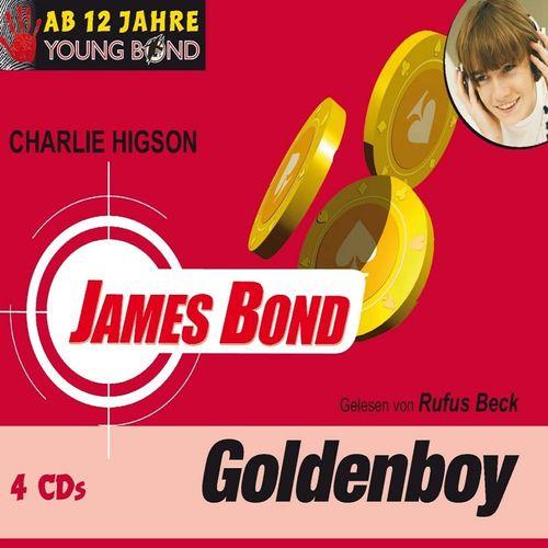 Young Bond Hörbuch CD James Bond - Goldenboy von Charlie Higsen gelesen Rufus Beck  NEU & OVP