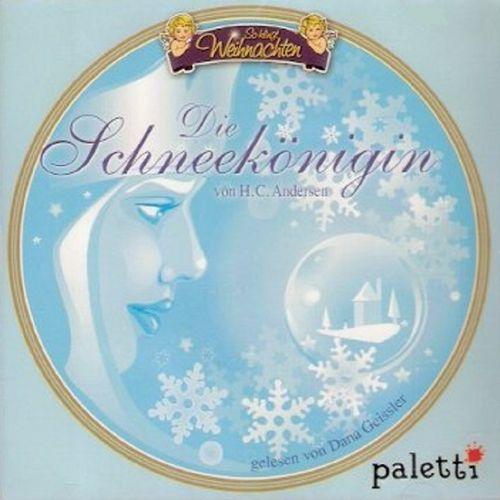 So klingt Weihnachten Hörbuch CD Die Schneekönigin von Hans Christian Andersen  Paletti  NEU & OVP