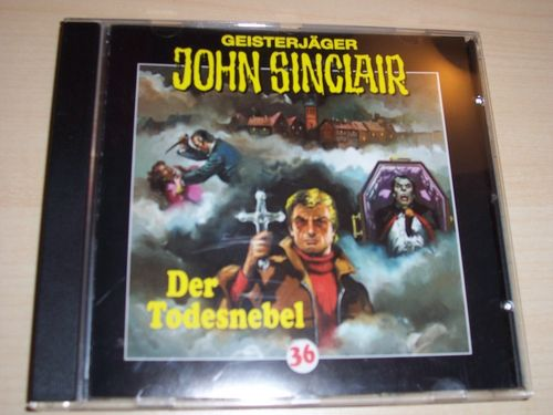 John Sinclair Hörspiel CD 036 36 Der Todesnebel  SPV Lübbe Audio  gebr.