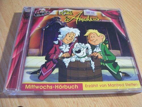 Little Amadeus Mittwochs-Hörbuch CD und das Katzenpferd  zur TV-Serie  Alive  gebr.