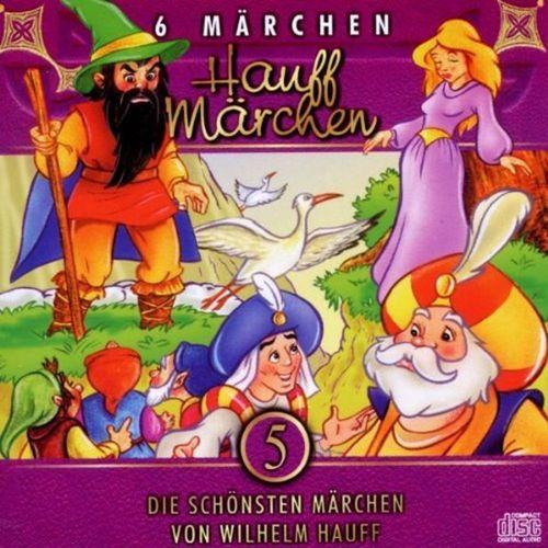Die schönsten Märchen Hörbuch CD Teil 5 - Hauff Märchen von Wilhelm Hauff  NEU & OVP