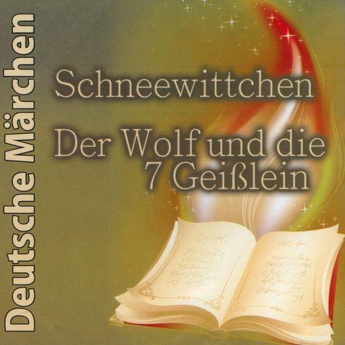 Deutsche Märchen Hörbuch CD Schneewittchen + Der Wolf und die 7 Geißlein  NEU & OVP
