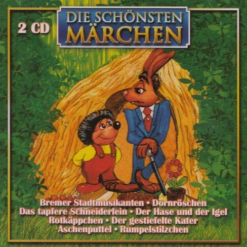 Die Schönsten Märchen Hörbuch CD Bremer Stadtmusikanten + Rotkäpchen 2er CDs  NEU & OVP
