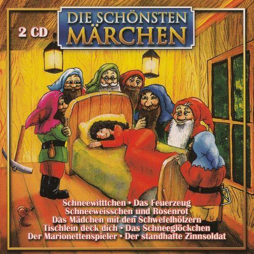 Die Schönsten Märchen Hörbuch CD Schneewittchen + Tischlein deck dich  2er CDs  NEU & OVP