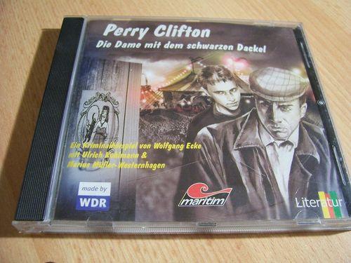 Ein Fall für Perry Clifton Hörspiel CD 002 2 Die Dame mit dem schwarzen Dackel  Maritim 2003  gebr.