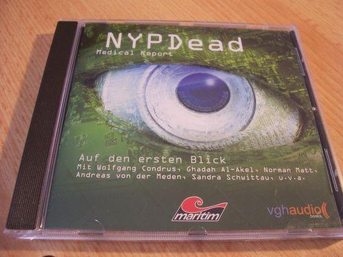 NYP Dead - Medical Report Hörspiel CD 002 2 Auf den ersten Blick  Maritim  gebr.