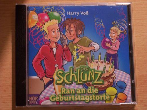 Der Schlunz Hörspiel CD Spezial - Ran an die Geburtstagstorte  Bibellesebund  gebr.