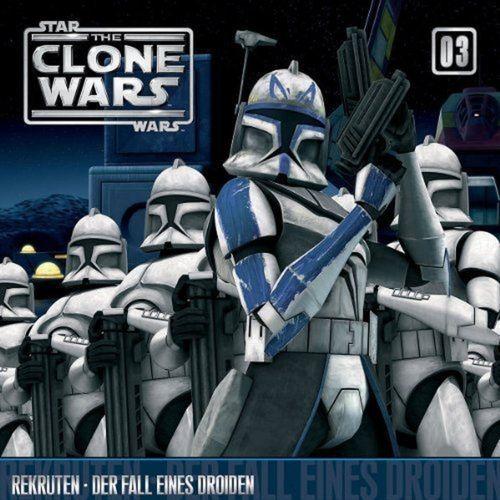 Star Wars - The Clone Wars Hörspiel CD 003 3 Rekruten + Der Fall eines Droiden NEU & OVP
