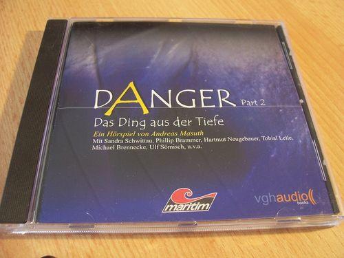 Danger Hörspiel CD 002 Part 2 Das Ding aus der Tiefe  Maritim  gebr.