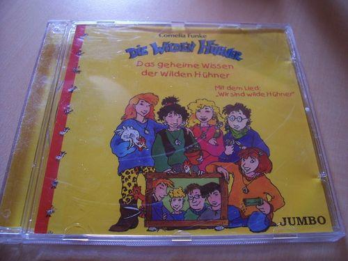 Die Wilden Hühner Hörspiel CD Das geheime Wissen der wilden Hühner  Cornelia Funke  gebr.