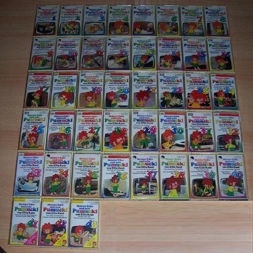 Meister Eder und sein Pumuckl Hörspiel MC 39x MCs von 1 - 43 EMI Sammlung komplett Paket  gebr.