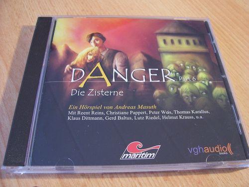 Danger Hörspiel CD 006 Part 6 Die Zisterne  Maritim  gebr.