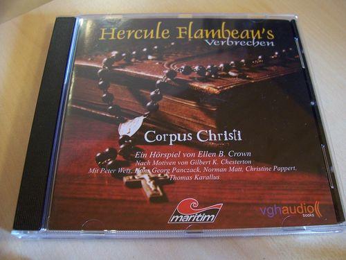 Hercule Flambeau's Verbrechen Hörspiel CD 002 2 Corpus Christi  Maritim  gebr.