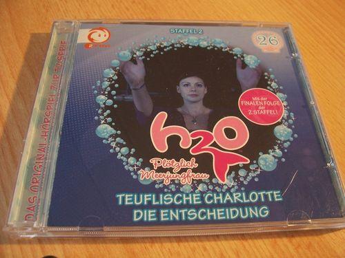 H2O Plötzlich Meerjungfrau Hörspiel CD 026 26 Teuflische Charlotte + Die Entscheidung TV-Serie gebr.
