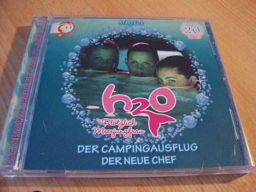 H2O Plötzlich Meerjungfrau Hörspiel CD 020 20 Der Campingausflug + Der Neue Chef TV-Serie  gebr.